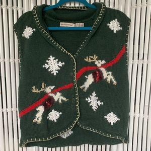 Vintage Ugly Christmas Vest